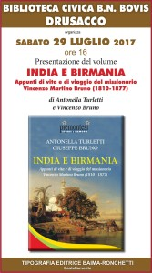 Drusacco India e Birmania